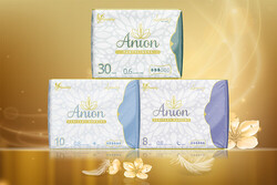 ANION DAMENBINDEN LUXURY / gemischt